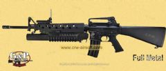 M16A3 w/ M203 Launcher AEG (Marine) by G&P